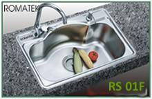 Chậu rửa chén bát inox Romatek RS 01F