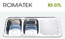 Chậu rửa chén bát inox Romatek RS 07L