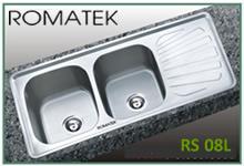 Chậu rửa chén bát inox Romatek RS 08L