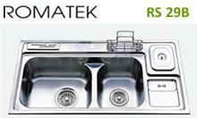 Chậu rửa chén bát inox Romatek RS 29B