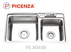 chậu inox Picenza pz 8043b