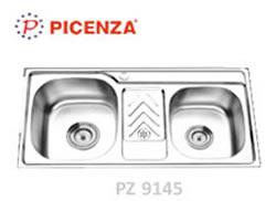 chậu rửa chén picenza pz9145