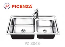 chậu inox Picenza pz8043