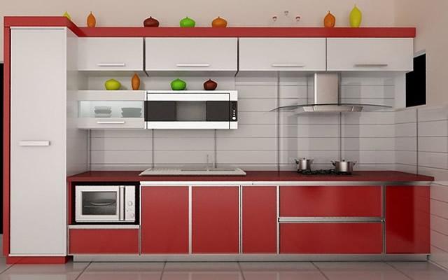 Tủ bếp gỗ HDF