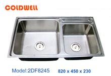 Chậu inox Coldwell 2DF8245