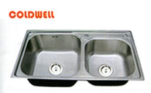 Chậu inox Coldwell 2DL8245