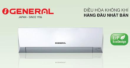 Máy lạnh GENERAL 1.5Hp Inverter