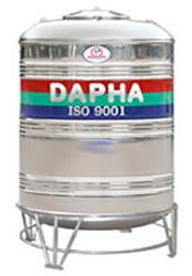 Bồn inox 1500 lít đứng Dapha R