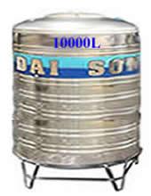 Giá Bồn nước inox Đại Sơn 10.000 lít đứng