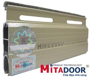 Cửa Cuốn Mitadoor song ngang thép