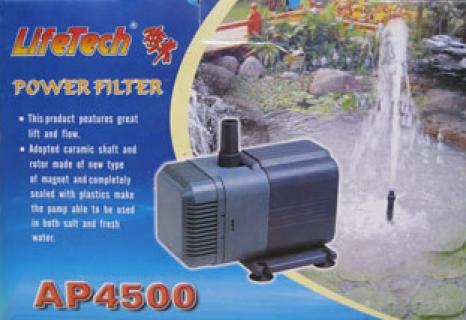 máy bơm hồ cá Lifetech Ap 4500