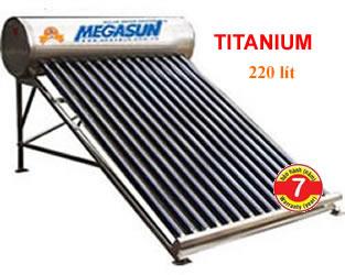 Máy năng lượng Megasun Titanium 220 lít