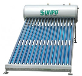 Máy nước nóng năng lượng SunPo HP 215 lít