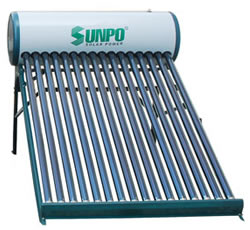 Máy nước nóng năng lượng SunPo SC 180 lít