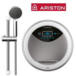 Máy nước nóng trực tiếp Ariston Aures Luxury Round RT45E-VN