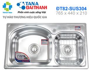 Chậu rửa inox Đại Thành DT82