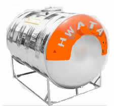 Bồn inox Hwata 310 lit ngang