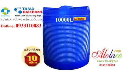 Bồn nhựa Đại Thành 10000L đứng thế hệ mới