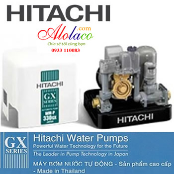 Máy Bơm Hitachi WM-P300GX2-SPV