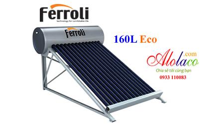 Máy nước nóng năng lượng Ferroli 160 lít