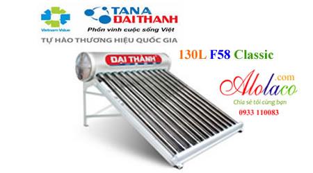 Giá máy nước nóng năng lượng mặt trời Đại Thành 130L