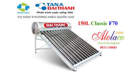 Máy năng lượng mặt trời Đại Thành 150L F70 Classic