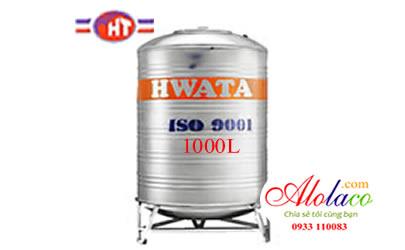 Giá Bồn nước inox Hwata 1.000 lít đứng