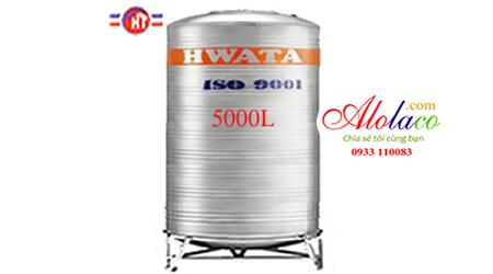 Giá Bồn nước inox Hwata 5.000 lít đứng