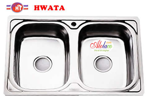 chậu inox Hwata BD8