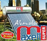 máy nước nóng mặt trời Super  Maxell