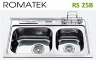 Chậu rửa chén bát inox Romatek RS 25B