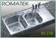 Chậu rửa chén bát inox Romatek RS 27B