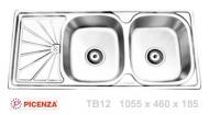 Chậu inox Picenza TB12