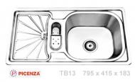 Chậu rửa inox Picenza TB13
