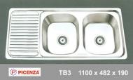 Chậu rửa inox Picenza TB3