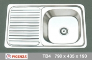 Chậu inox Picenza TB4