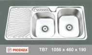 Chậu inox Picenza TB7