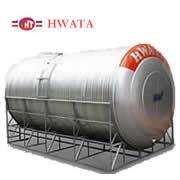 Giá Bồn nước inox Hwata 15.000 lít nằm