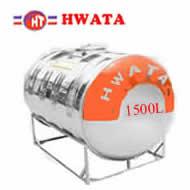 Bồn inox Hwata 1500 lít nằm