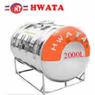 Bồn inox Hwata 2000 lít nằm