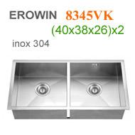 Chậu inox 304 Erowin 8345VK