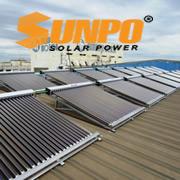 Giàn nước nóng công nghiệp SunPo 2000 lít