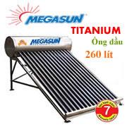 Máy năng lượng Megasun Titanium 260 lít