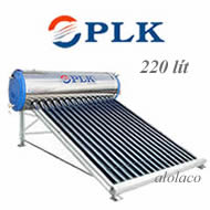 Máy nước nóng mặt trời Phú Lạc Khang 220 lít