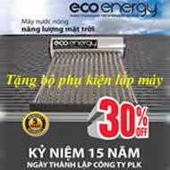 Máy nước nóng năng lượng mặt trời Eco Energy 250 lít