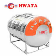 Giá Bồn nước inox Hwata 300 lit ngang