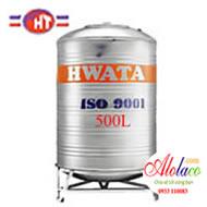 Giá Bồn nước inox Hwata 500L đứng