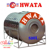 Bồn inox Hwata 500 lít nằm