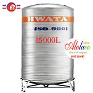 bồn inox Hwata 15000 lít đứng