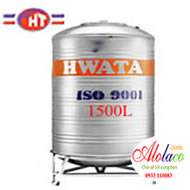 bồn inox Hwata 1500L đứng